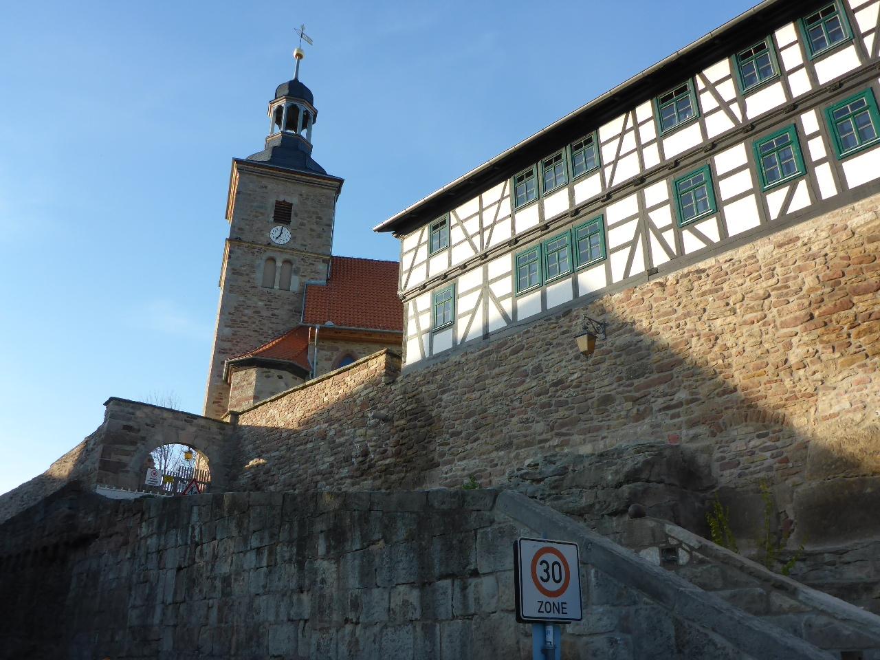 ev. Kirche in Walldorf Galerie Brand - Trabert + Partner